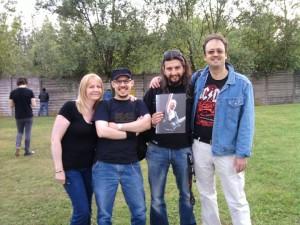 Susan, Max, Eugeneo, and Mario