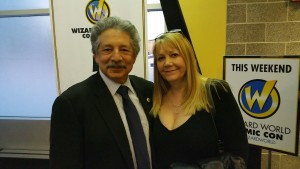 Sue and Mayor Paul Soglin Comic Con 2015