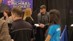 Sue with Michael Rooker Comic Con 2015