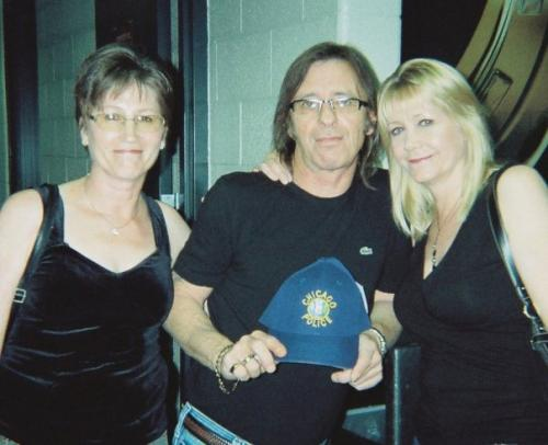 Susan and Phil Rudd
